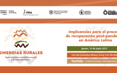 SINERGIAS RURALES | Implicancias para el proceso de recuperación post-pandemia en América Latina